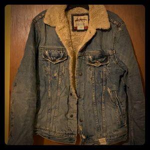 Men's Abercrombie & Fitch Lined Jean Jacket